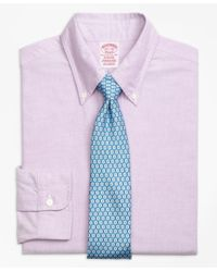 Brooks Brothers | Purple Madison Fit Original Polo® Button-down Oxford Dress Shirt for Men | Lyst