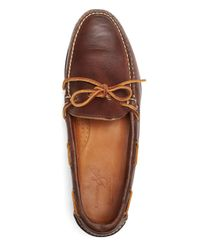 Brooks Brothers - Brown Rancourt & Co. Gentleman's Moccasins for Men - Lyst