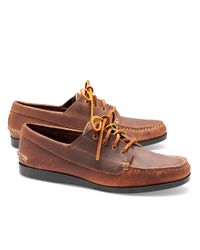 Brooks Brothers - Brown Rancourt & Co Ranger Moccasins for Men - Lyst