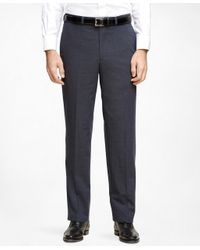 Brooks Brothers - Blue Madison Fit Brookscool® Dress Trousers for Men - Lyst