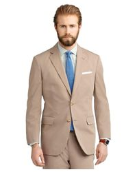 Brooks Brothers | Natural Madison Fit Poplin Suit for Men | Lyst