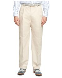 Brooks Brothers - Natural Madison Fit Twill Suit for Men - Lyst