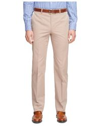 Brooks Brothers - Natural Fitzgerald Fit Twill Suit for Men - Lyst
