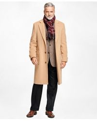 Brooks Brothers | Natural Golden Fleece® Single-breasted Polo Coat for Men | Lyst