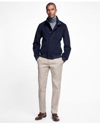 Brooks Brothers   Blue Brooksstorm® Bomber Jacket for Men   Lyst
