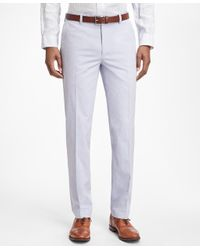 Brooks Brothers | Blue Non-iron Milano Fit Supima® Cotton Oxford Chinos for Men | Lyst