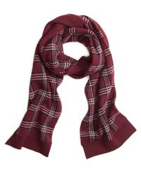 Brooks Brothers | Red Signature Tartan Scarf for Men | Lyst