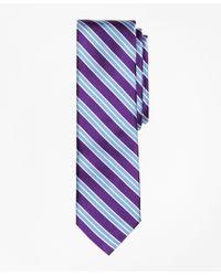 Brooks Brothers | Purple Multi-stripe Slim Tie for Men | Lyst