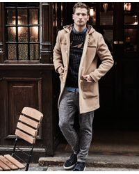 Brooks Brothers - Multicolor Double-faced Duffel Coat for Men - Lyst