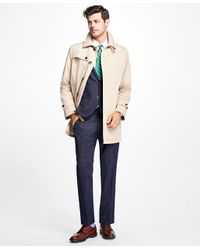 Brooks Brothers | Natural Water-resistant Single-breasted Trench Coat for Men | Lyst
