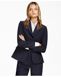 Brooks Brothers | Blue Pinstripe Brookscool® Two-button Jacket | Lyst