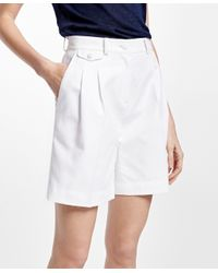 Brooks Brothers Natural Cotton Dobby Shorts