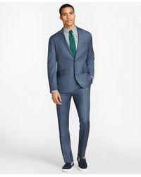 Brooks Brothers - Blue Sharkskin Wool Suit Jacket for Men - Lyst