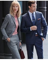 Brooks Brothers - Metallic Engraved Stripe Tie Bar for Men - Lyst