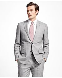Brooks Brothers - Black Fitzgerald Fit Golden Fleece® Plaid With Deco Suit for Men - Lyst