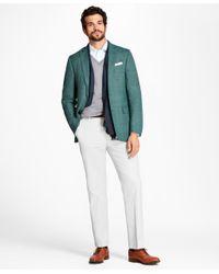 Brooks Brothers - Green Regent Fit Hopsack Sport Coat for Men - Lyst