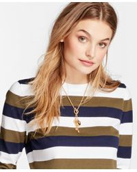 Brooks Brothers | Metallic Gold-plated Key Necklace | Lyst