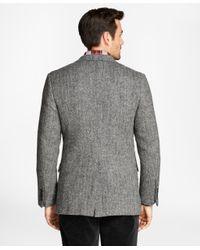 Brooks Brothers - Gray Regent Fit Brookstweed Herringbone Sport Coat for Men - Lyst