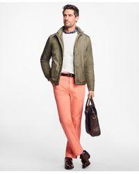 Brooks Brothers - Green Ultra Lightweight Bomber Jacket for Men - Lyst