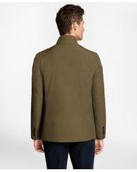 Brooks Brothers | Green Hybrid Jacket for Men | Lyst