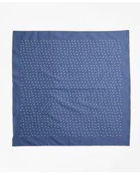 Brooks Brothers - Blue Ditsy-print Bandana - Lyst