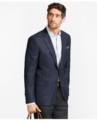 Brooks Brothers | Blue Madison Fit Check With Bold Deco Sport Coat for Men | Lyst