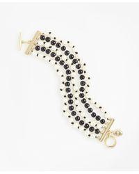 Brooks Brothers | Multicolor Five-strand Bracelet | Lyst