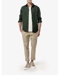 By Walid | Black Ben Camouflage Green Cotton Shirt for Men | Lyst