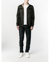 Valentino - Blue Tie Dye Print Jacket for Men - Lyst