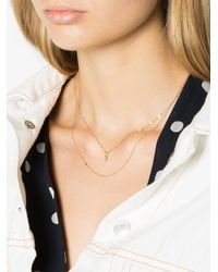 Tara Hirshberg - Gray Mini Diamond Necklace - Lyst