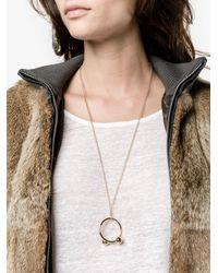 J.W.Anderson | Multicolor Piercing Necklace | Lyst
