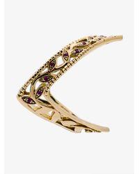 Yvonne Léon - Metallic Viviane Fleur Diamond Ring - Lyst