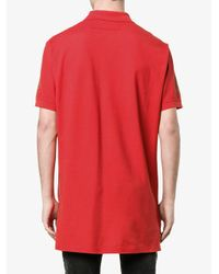 Givenchy - Red Dollar Print Polo Shirt for Men - Lyst