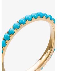 Rosa De La Cruz - Metallic Turquoise Stacking Ring - Lyst