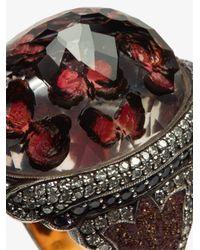Sevan Biçakci - Red Ruby Cocktail Ring - Lyst