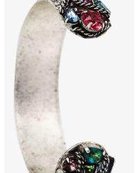 DANNIJO - Metallic Swarovski Crystal Adana Bracelet - Lyst