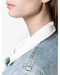 Ileana Makri - Pink 18k Gold And Sapphire Earring - Lyst