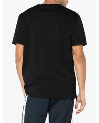 Marcelo Burlon Black T Shirt With Mickey Mouse Print for men