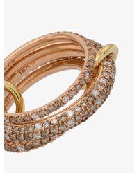 Spinelli Kilcollin - Gray Rose Gold Nova Diamond Ring - Lyst