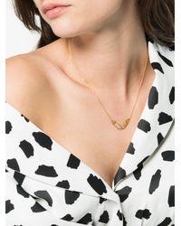 Anton Heunis - Gray Gold Mermaid Diamond Necklace - Lyst