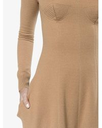Stella McCartney - Natural Knitted Wool Jumpsuit - Lyst