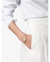Kimberly Mcdonald - Metallic Double Chain Medallion Bracelet - Lyst