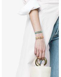 Venessa Arizaga - Blue Lucky Bracelet - Lyst