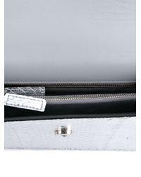 Alexander McQueen - Metallic Leather Wings Satchel - Lyst