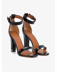Givenchy   Black Chain Crocodile-embossed 105mm Sandal   Lyst