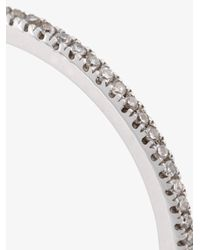 Rosa De La Cruz - Metallic Eternity Diamond Ring - Lyst