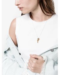 Marc Alary - Metallic Micro Animal Diamond Necklace - Lyst