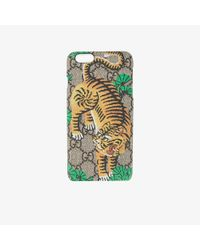Gucci - Multicolor Bengal Tiger Iphone 6+ Case - Lyst