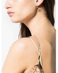 Marie-hélène De Taillac - Multicolor Smokey Quartz And Round Sapphire Earrings - Lyst