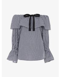 Rejina Pyo - Black Clara Cotton Off-the-shoulder Top - Lyst